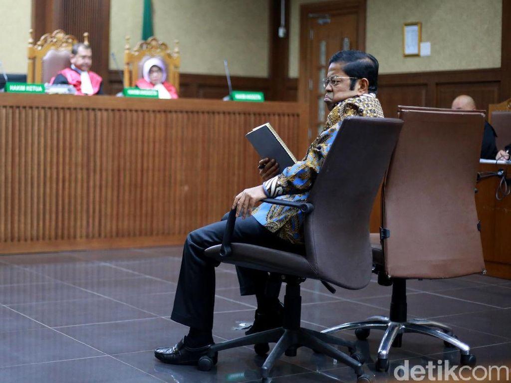 Video Idrus Marham Dituntut 5 Tahun Penjara dan Denda Rp 300 Juta