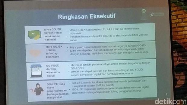 Riset: Go-Jek Kontribusikan Rp 44,2 T ke Ekonomi Indonesia di 2018
