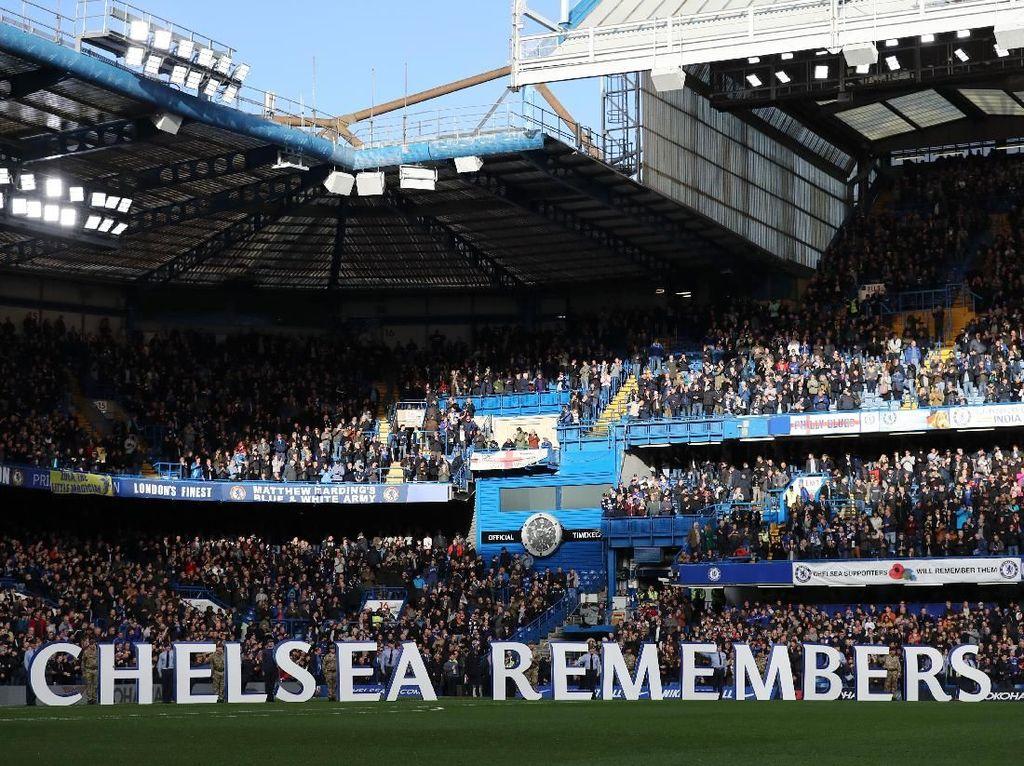 Tuntut Sarri Mundur, Fans Chelsea Boikot Laga Kandang