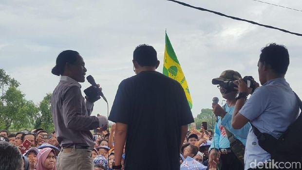 Sandiaga bertemu nelayan di Tanggerang, Banten