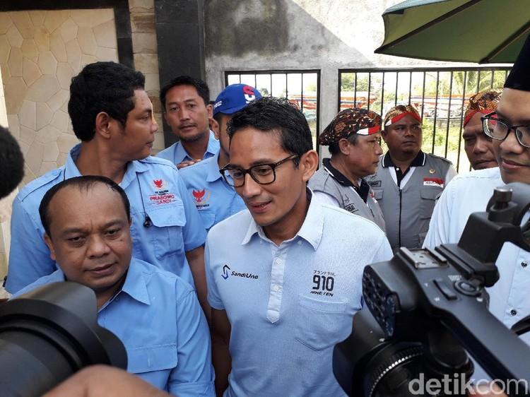 Sandi Prihatin Pemecatan Guru Honorer Gegara Pamer Stiker Prabowo