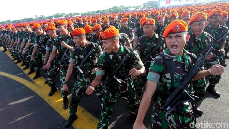 100 Ribu Personel TNI-Polri Ikuti Apel Pengamanan Pemilu