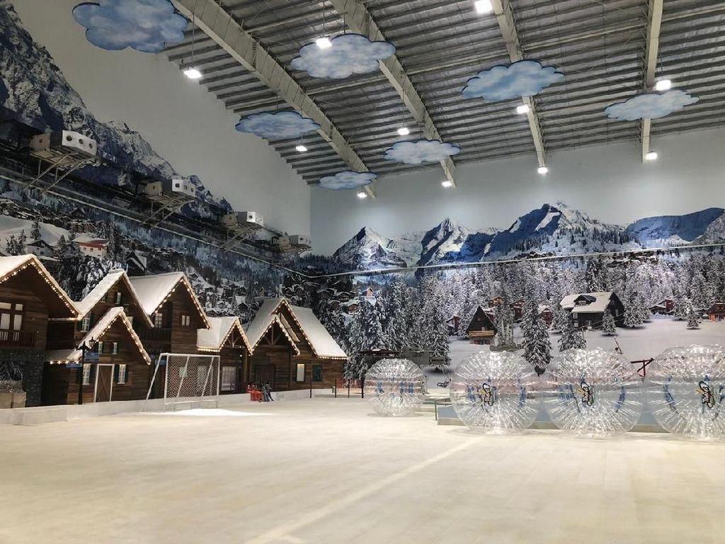 Mau Main Salju di Trans Snow World Bekasi? Ini Harga Tiketnya