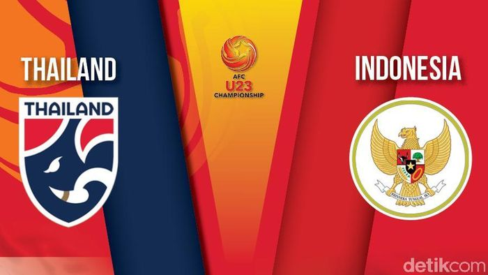 Indonesia Dihajar Thailand 0-4