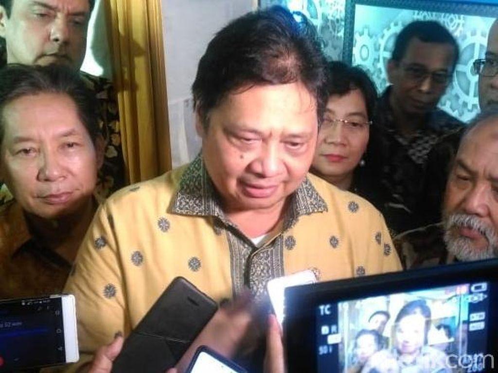 Erwin Aksa Dukung Sandi, Airlangga: Kader Golkar Kan Banyak