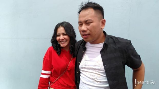 Anggia Chan dan Vicky Prasetyo saat masih bersama