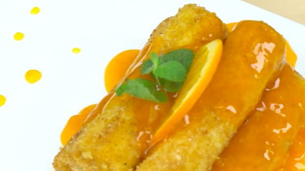 Resep orange toast sugar