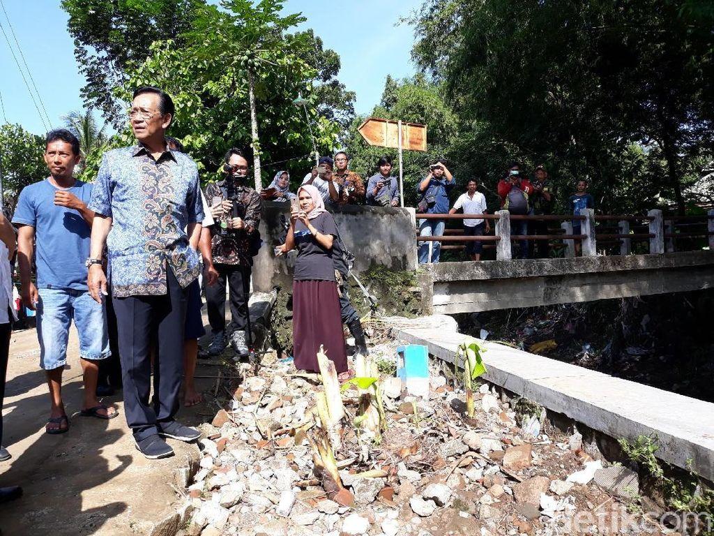 Sultan HB X Ikhlaskan Tanahnya untuk Embung Penahan Banjir di Bantul