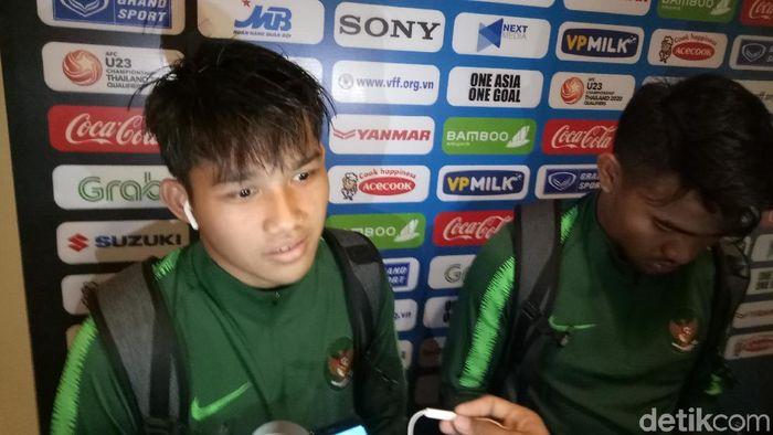 Witan Sulaeman bilang Timnas kalah karena enggak fokus. (Randy Prasatya/detikSport)