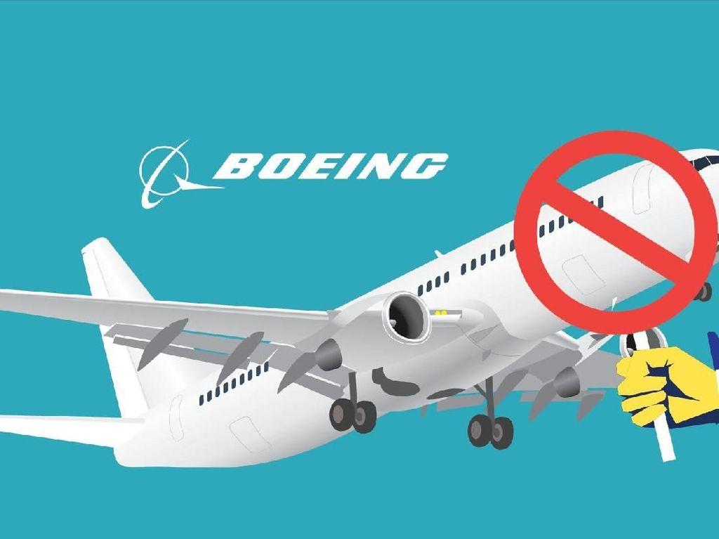 Boeing Pangkas Produksi, Rekanan Produsen Suku Cadang Terimbas