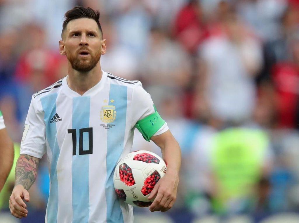 Messi Tak Nyaman di Timnas Argentina