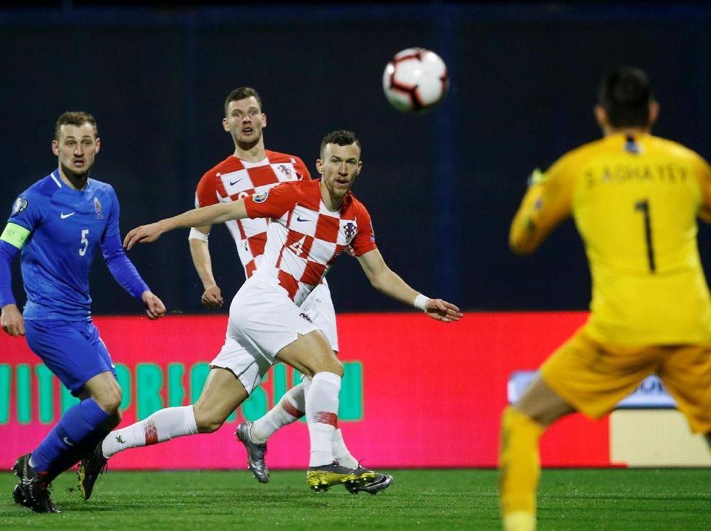 Kualifikasi Piala Eropa: Kroasia Menang Susah Payah
