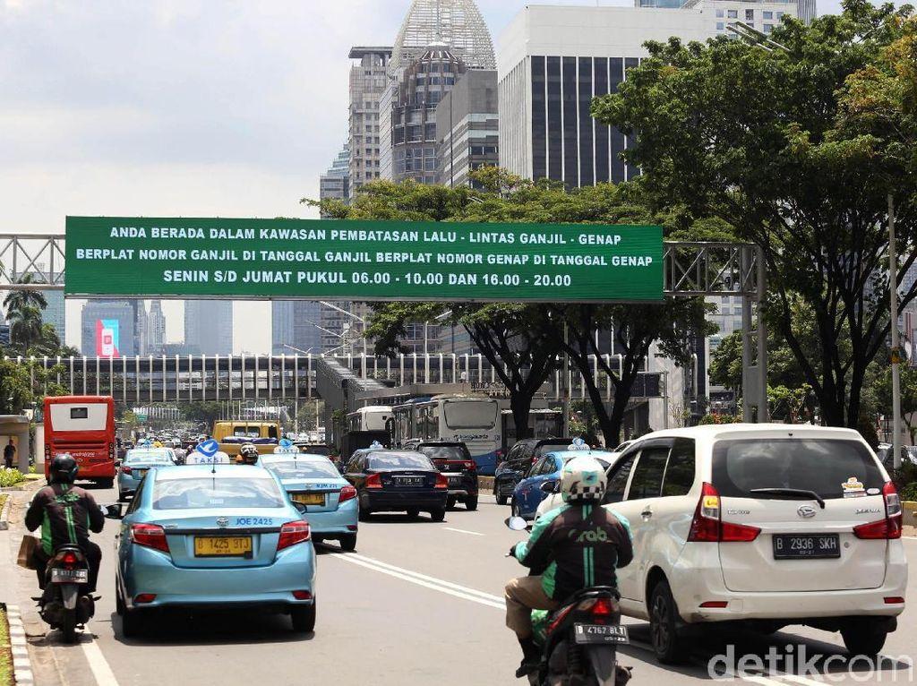 Menengok Penerapan Ganjil Genap di Jakarta