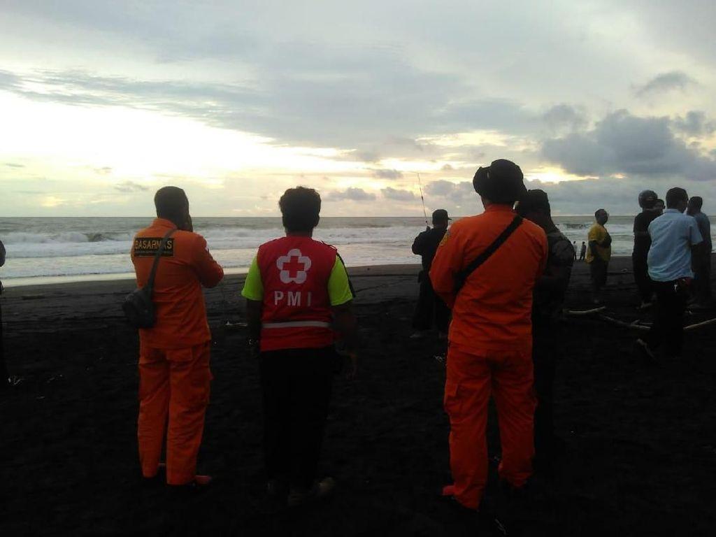 2 Bocah Hilang Terseret Ombak Pantai Congot Kulon Progo