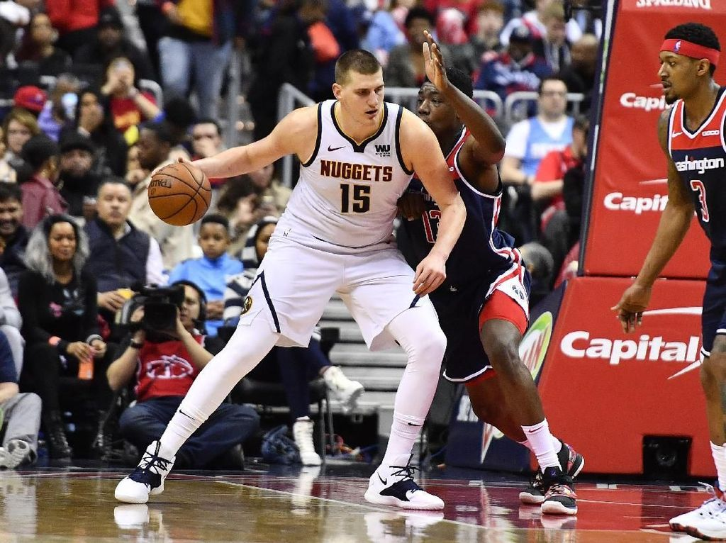 Hasil NBA: Denver Nuggets Hantam Wizards