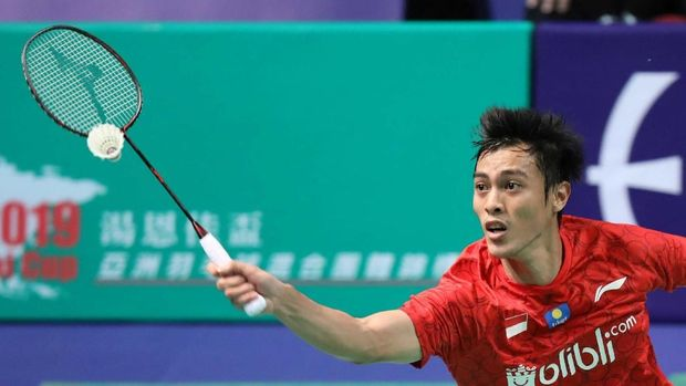 Tunggal putra Indonesia, Shesar Hiro Rustavito gagal menghalau langkah Jepang untuk meraih kemenangan 3-0 atas Indonesia dan memastikan tiket ke final Kejuaraan Bulutangkis Beregu Campuran Asia 2019.