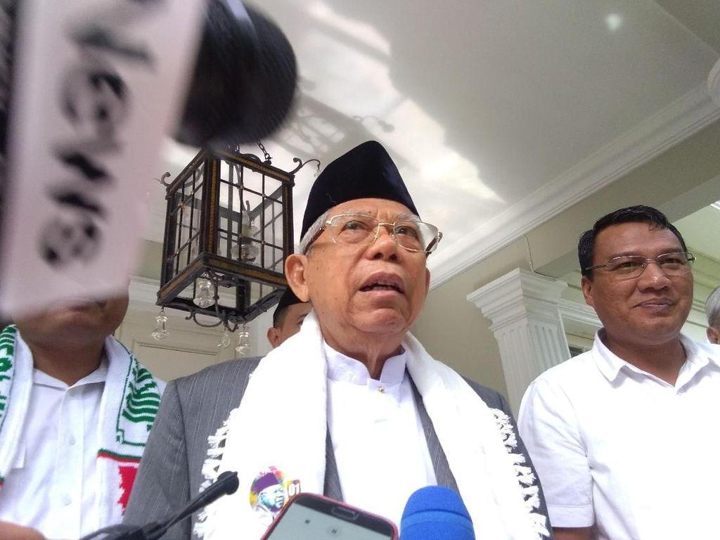 Jelang Kampanye Terbuka, Maruf Safari Politik di DKI Jakarta-Banten