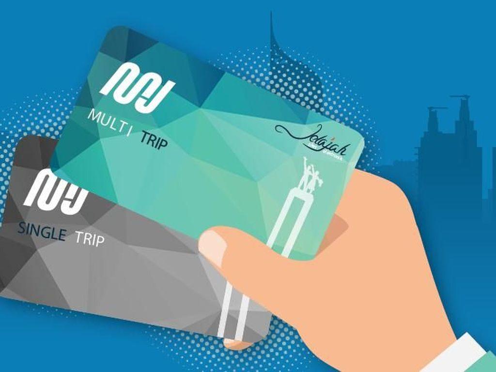 Ingat! Beli Kartu MRT Jakarta Bisa Refund