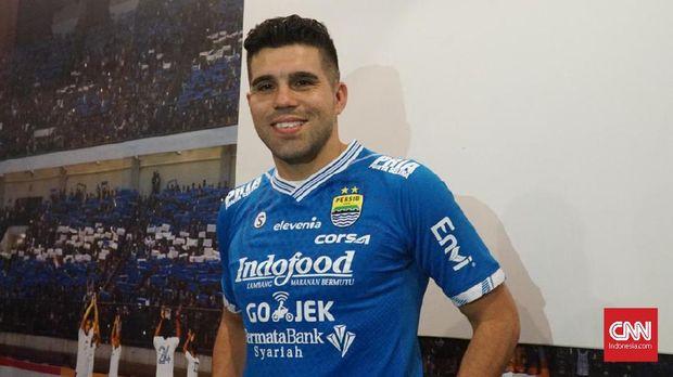 Fabiano Beltrame belum pernah tampil untuk Persib Bandung di pertandingan resmi.