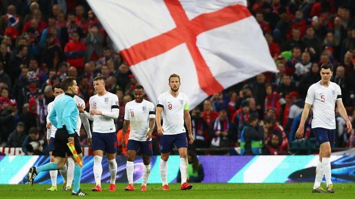 Gareth Southgate menilai penjualan Wembley akan menguntungkan Inggris. (Foto: Clive Rose/Getty Images)