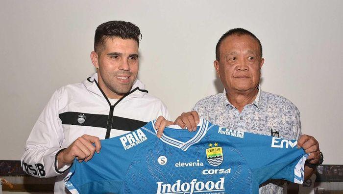 Fabiano Beltrame sudah diincar Persib Bandung sejak masih di Persela (persib.co.id)