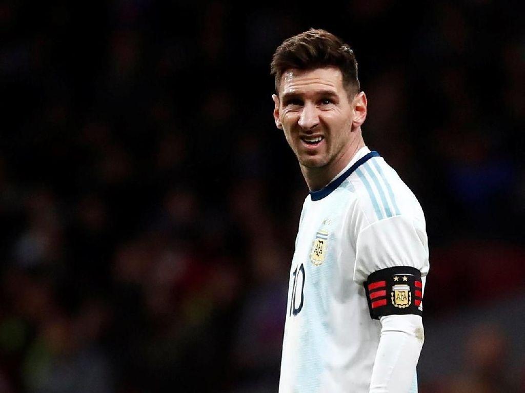 Messi Absen Lawan Maroko, Argentina Rugi Rp 7,2 Miliar