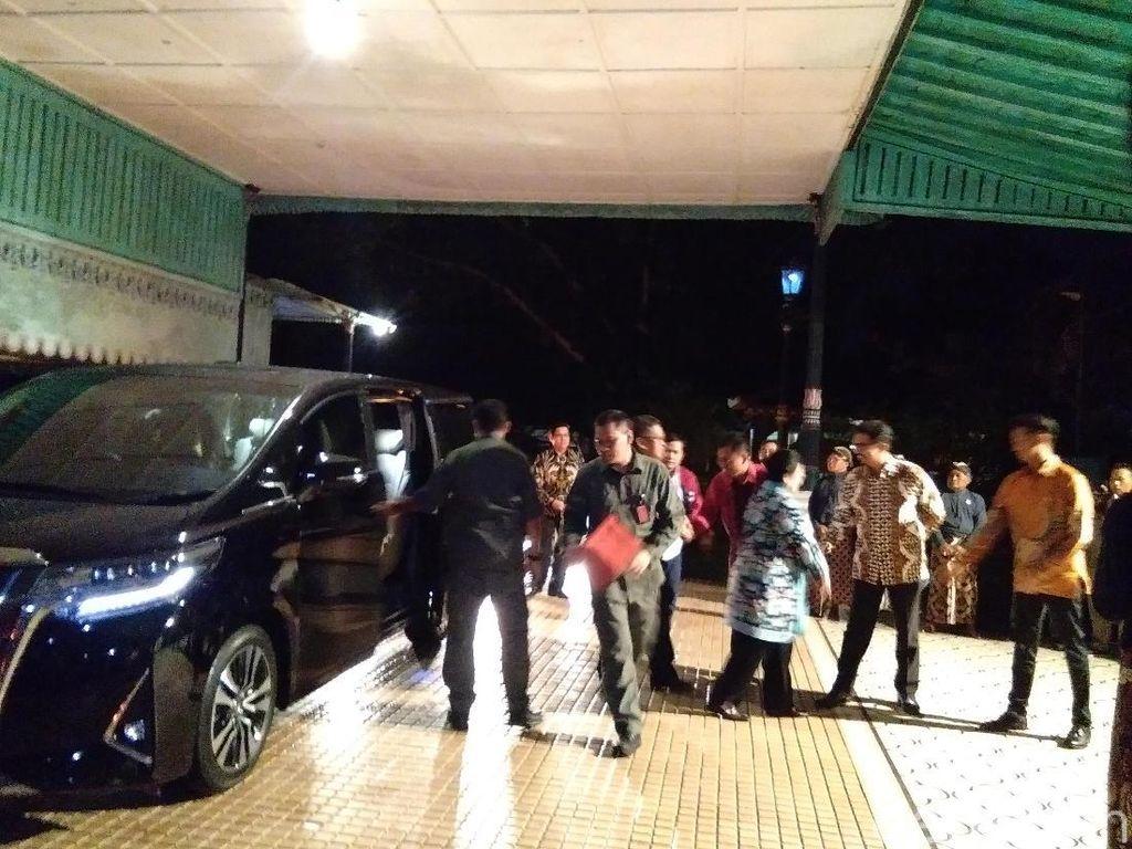 Megawati dan Elite PDIP Bertandang ke Keraton Yogyakarta