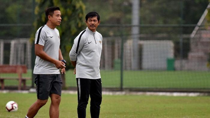 Indra Sjafri ingin para pemainnya mendapatkan kans bermain lebih besar di klub. (Foto: ANTARA FOTO/R. Rekotomo)