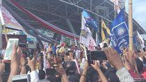 Prabowo ke Warga Makassar: Capres 02, Caleg Pilih PAN-PKS-PD-Gerindra