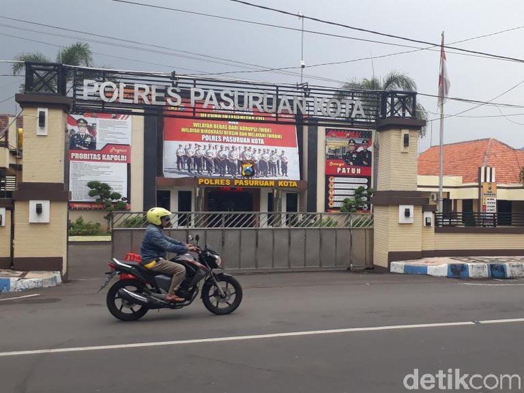 Jebol Teralis Besi, 4 Tahanan Polres Pasuruan Kota Kabur