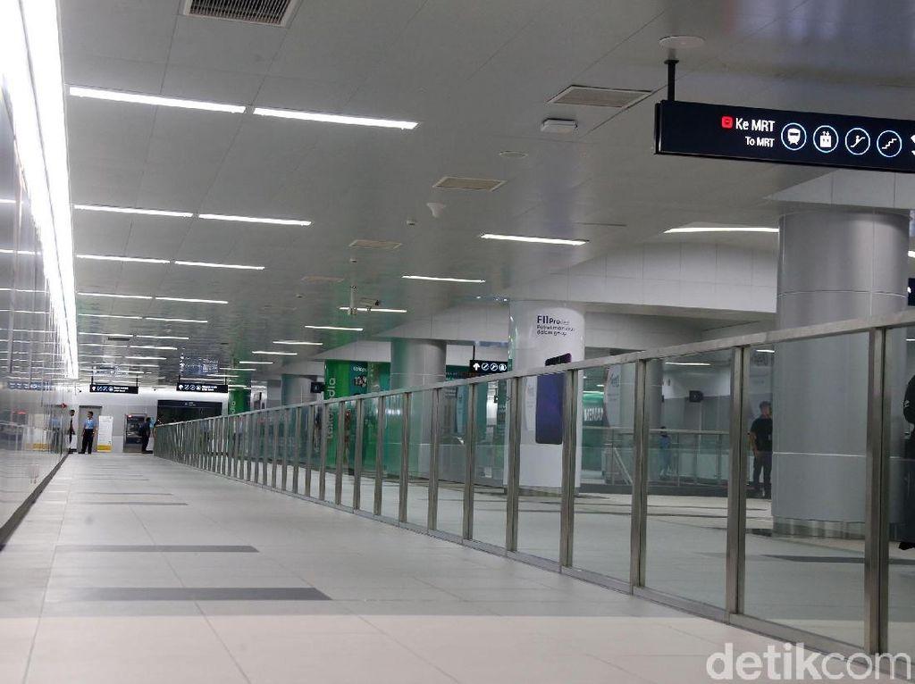 Daftar Lengkap Tarif MRT Jakarta Antar Stasiun