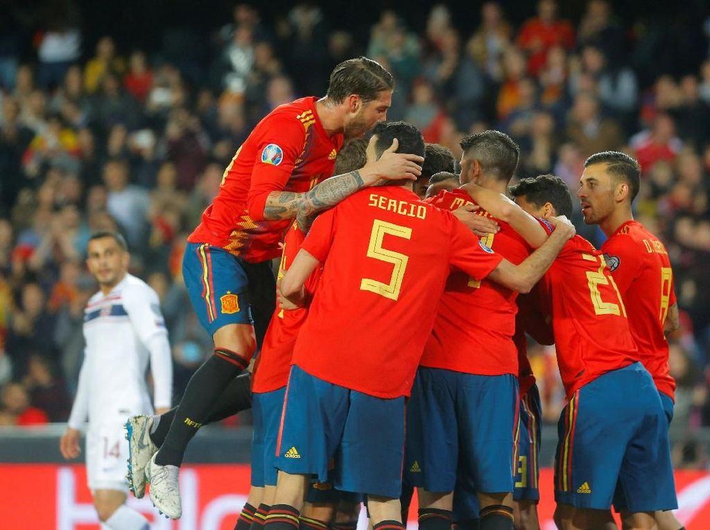 Enrique: Spanyol Mestinya Bisa Menang 6-1