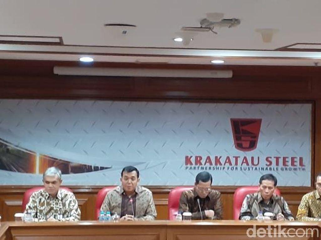 Dirut Krakatau Steel Kaget Direkturnya Di-OTT KPK: Jajaran Direksi Baik