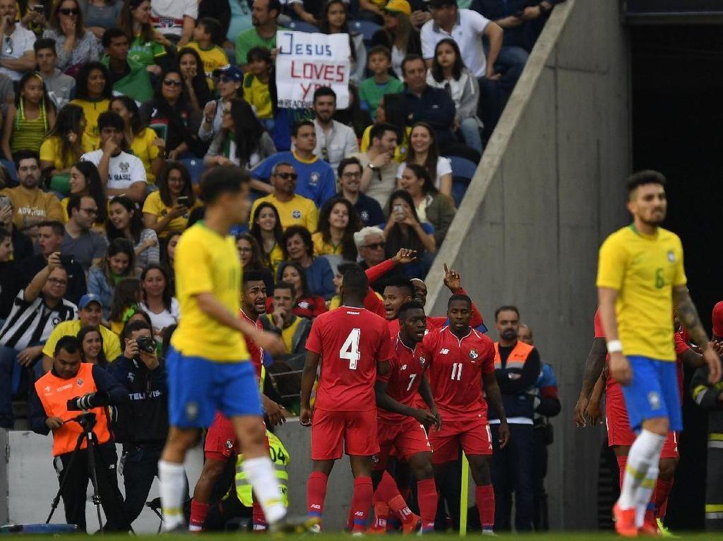 Brasil Jelek di Babak Pertama, Hasil Akhirnya Juga