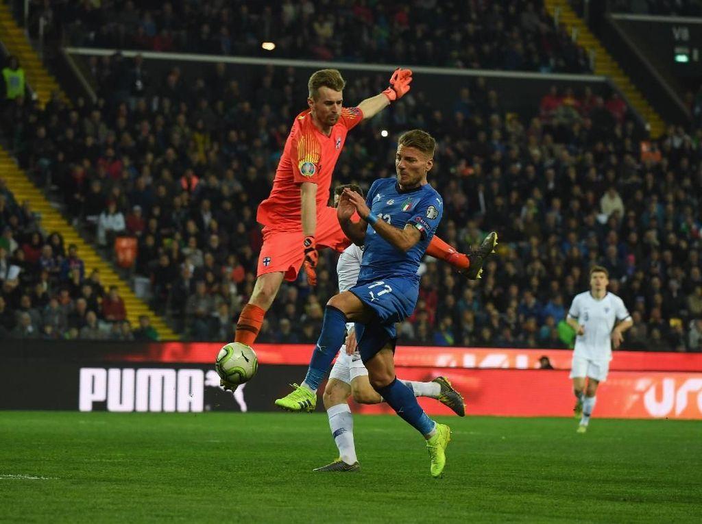 Kualifikasi Piala Eropa: Italia Tundukkan Finlandia