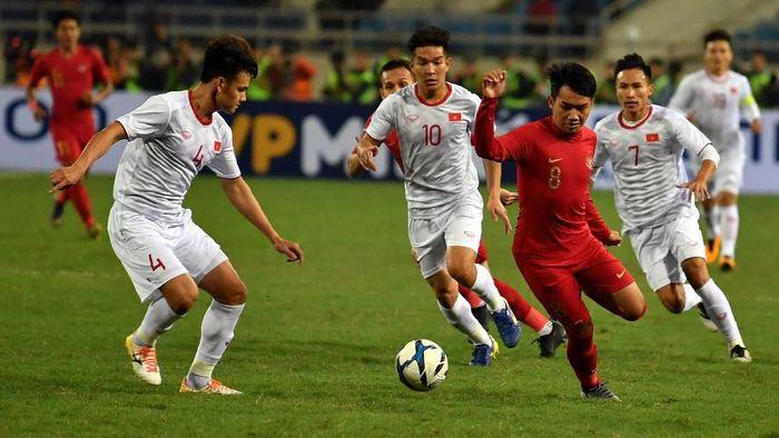 Timnas Indonesia dikalahkan Vietnam 0-1 di Kualifikasi Piala Asia U-23 2020 (Foto: ANTARA FOTO/R. Rekotomo/aww)