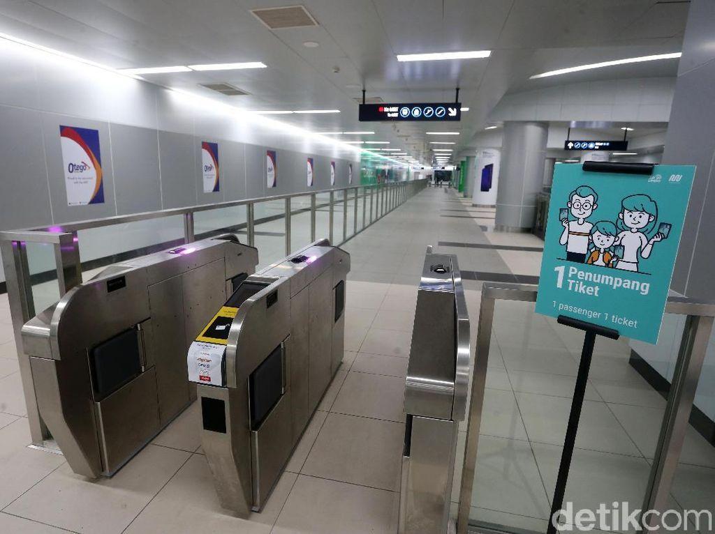 Kartu Sakti MRT Belum Dijual
