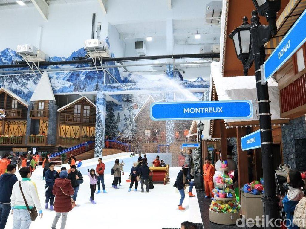 Bisa Main Salju di Bekasi, Trans Snow World Trending