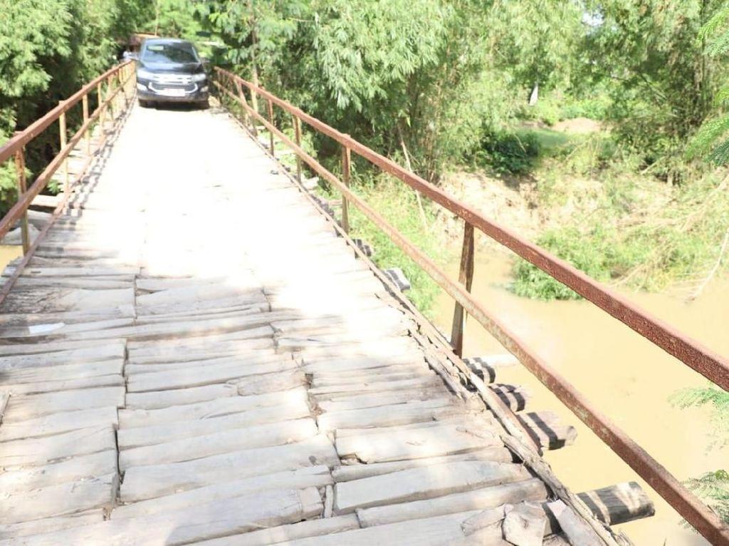 Sering Makan Korban, Ini Lapuknya Jembatan Piano di Serang