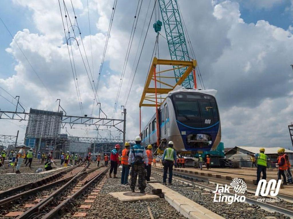 Apa Kabar Proyek MRT Jakarta Rute Bundaran HI-Kota?