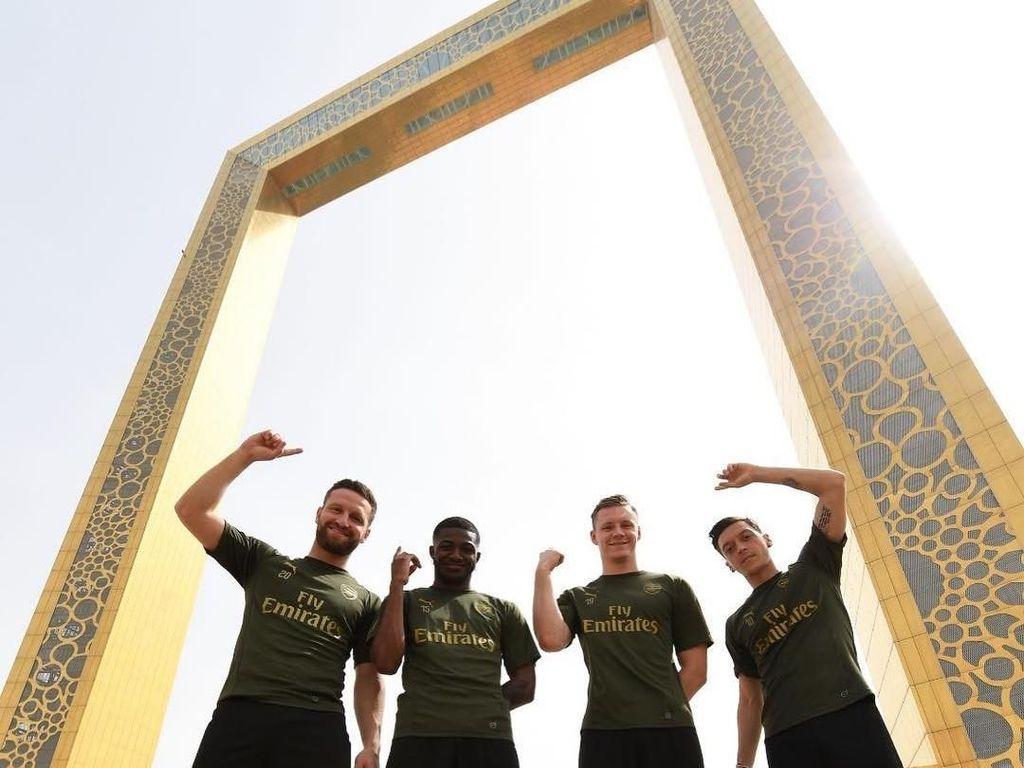 Foto: Liburan ke Dubai Seperti Bintang Arsenal