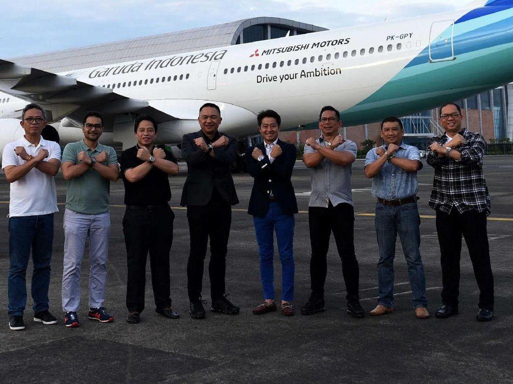Garuda dan Mitsubishi Perkuat Kerja Sama