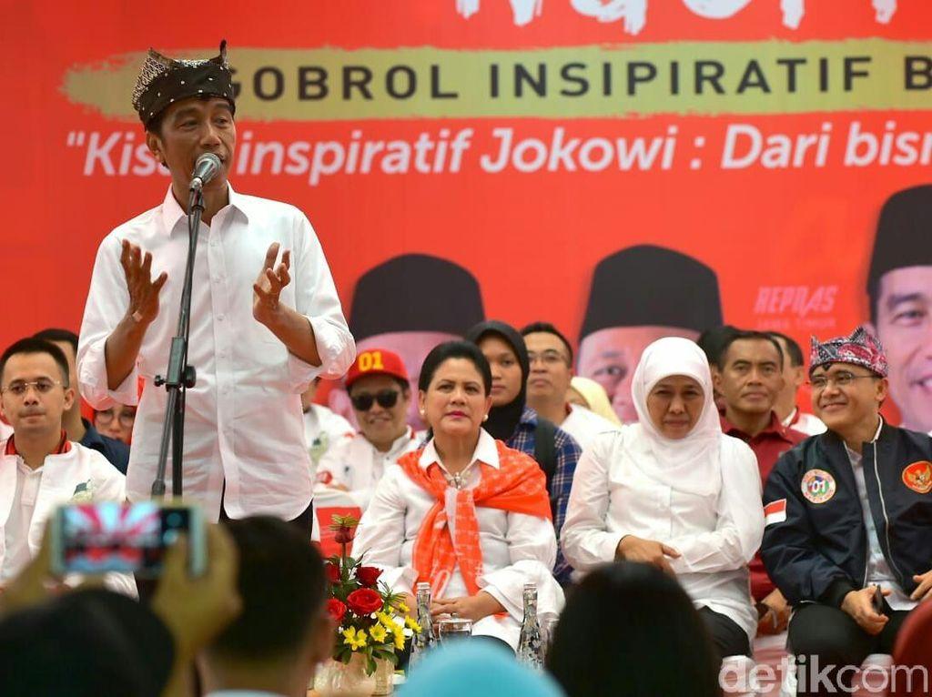 Ogah Disemprit Bawaslu, Jokowi Pilih Bagikan Ilmu Wirausaha Dibanding Sepeda