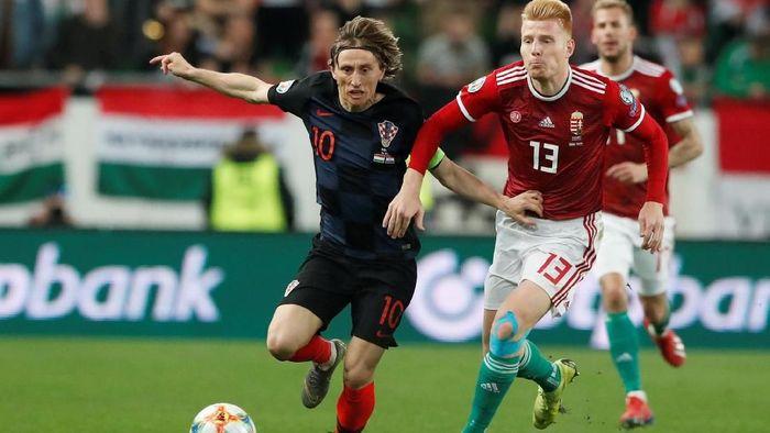 Kroasia dikalahkan Hongaria 1-2 di Kualifikasi Piala Eropa 2020 (Foto: Bernadett Szabo/Reuters)
