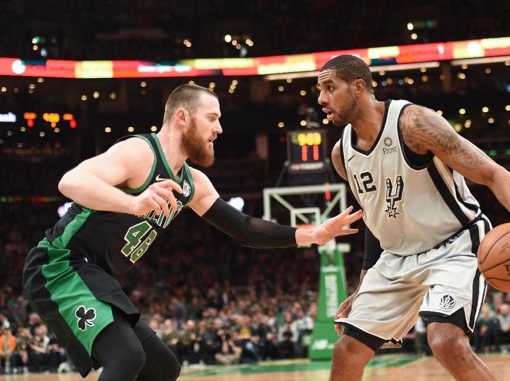 Hasil NBA: Spurs Menang di Kandang Celtics