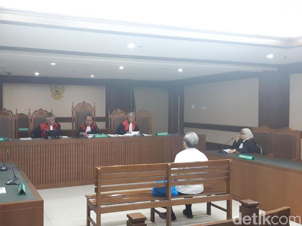 Eks Anggota DPRD Sumut Didakwa Terima Suap Rp 772 Juta dari Gatot Pujo