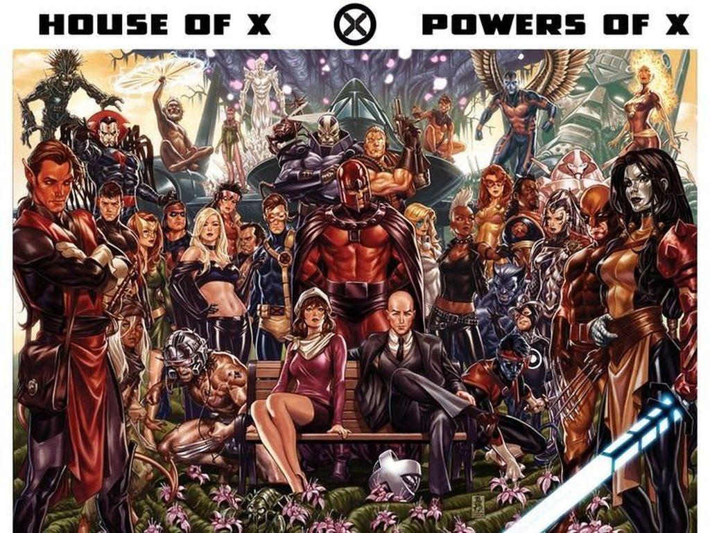 Revolusi Marvel di Dua Seri Komik X-Men Terbaru