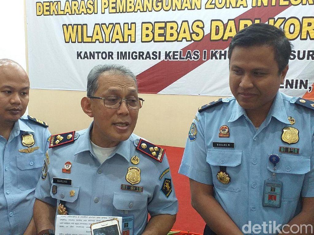 Targetkan Predikat WBK, Imigrasi Surabaya Canangkan Zona Integritas