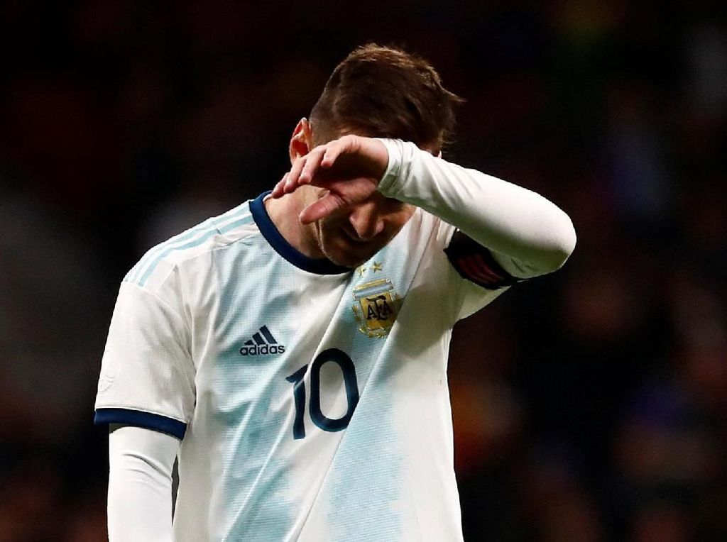 Messi Cedera, Maroko ke Argentina: Masa Sih?
