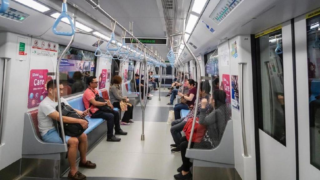 Bisa Dicontoh MRT Jakarta, Ini Aneka Denda di MRT Singapura